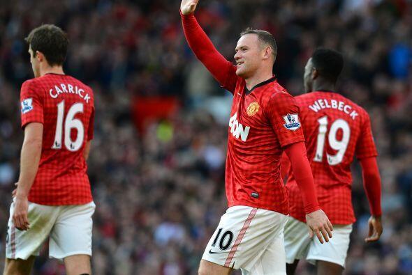 Con dos anotaciones, Rooney comandó a los 'Red Devils' para imponerse po...