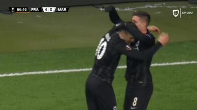 ¡GOOOL! Luka Jovic anota para Eintracht Frankfurt