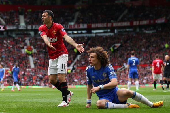 Se pedía un penalti para los visitantes que no fue marcado.