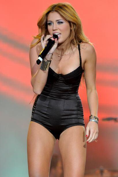 """Antes Miley Cyrus tenía una imagen dirigida para los """"peques"""" de la casa..."""
