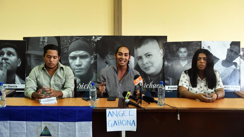 Freddy Martínez, Jeancarlo López y Valeska Valle son tres de los portavo...