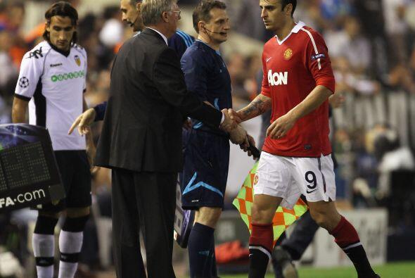 Ya eran los últimos 15 minutos del duelo y Alex Ferguson, técnico de los...