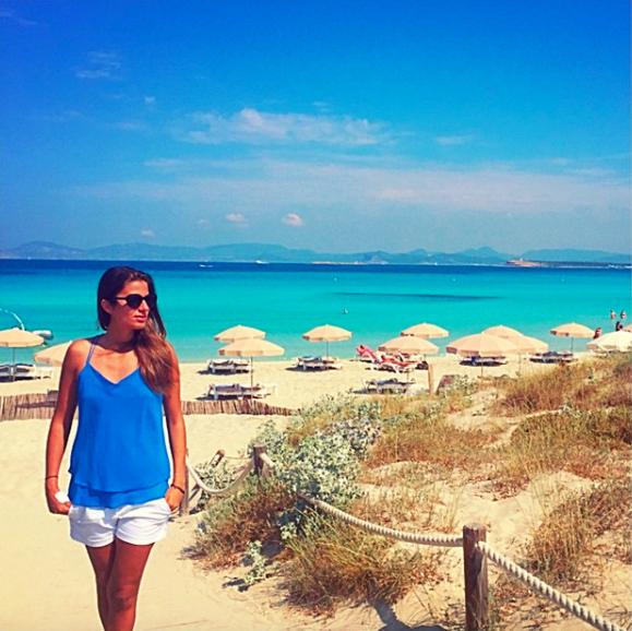 Nathalie Mamo, la amiga que Ronaldinho presentó en sus redes sociales Ca...