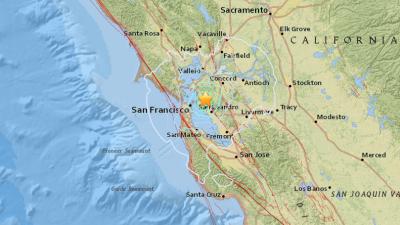 Se registran réplicas de sismo en Oakland