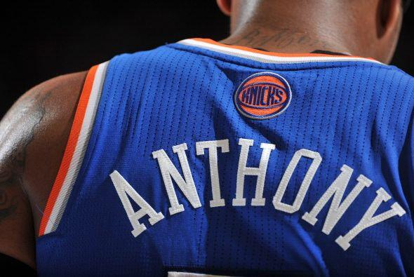 7. Carmelo Anthony, Knicks