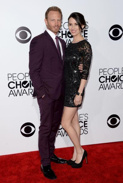 Muy guapos aparecieron Ian Ziering y Erin Kristine Ludwig.