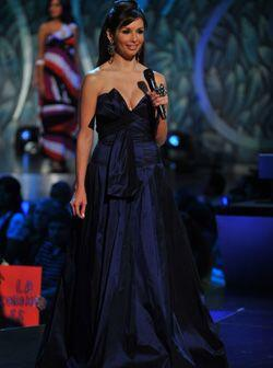 En la segunda hora del programa Nuestra Belleza Latina Giselle se visti&...