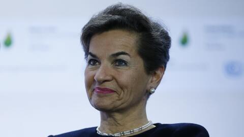 Figueres lideró con éxito las negociaciones globales contr...