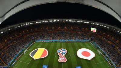 En fotos: Bélgica viene de atrás para eliminar a Japón y meterse a cuartos de final