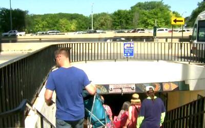Declaran el cierre nocturno de vía subterránea que lleva al lago Michigan
