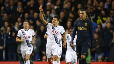 Tottenham no tuvo piedad del Mónaco