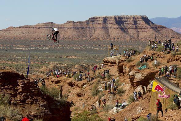 El Red Bull Rampage representa la evolución del estilo big mountain, con...