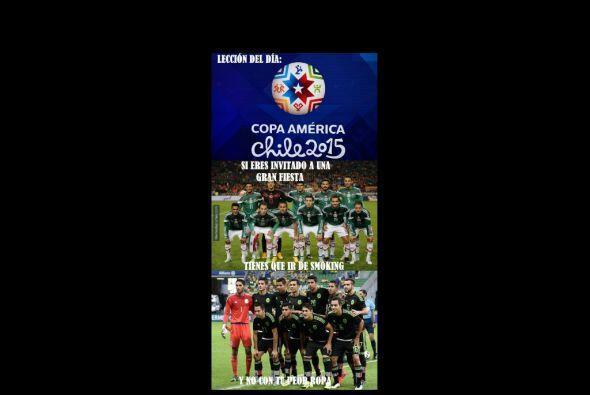 Los memes no podía faltar luego del empate entre México y Chile, ahora l...