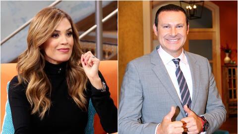 Karla Martínez y Alan Tacher