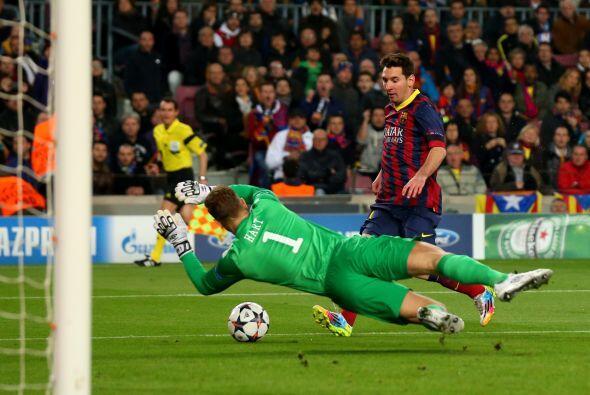 Lionel Messi se mostró mejor de lo que había hecho en sus últimos partid...