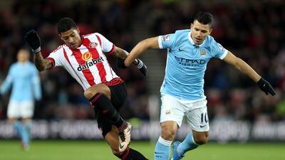 El 'Kun' Agüero marcó el gol de la victoria para el Manchester City