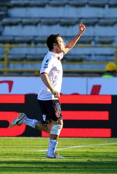 Cagliari descontó de la mano deAndrea Cossu.