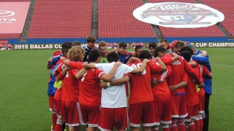 La prodigiosa cantera del FC Dallas será parte del torneo.