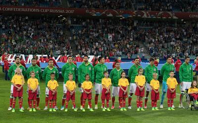 El XI inicial con el que México enfrentará a Alemania en la semifinal de...