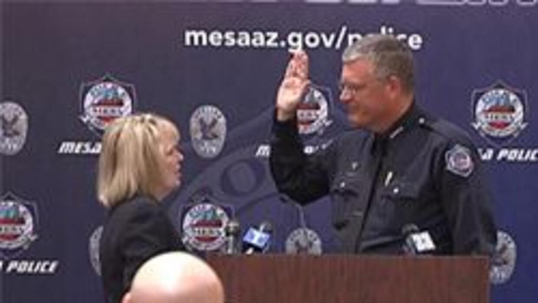Nuevo jefe de la policia de Mesa Frank Milstead