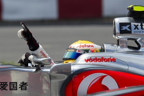En 1 hora y 33 minutos, Lewis Hamilton terminó la competencia.