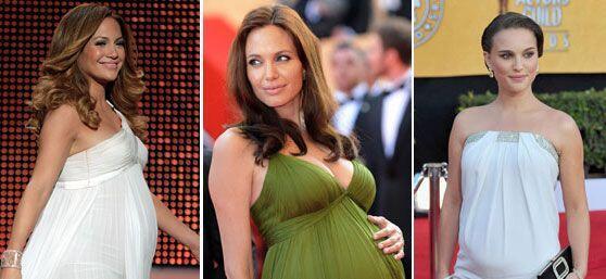 Jennifer Lopez, Angelina Jolie, Natalie Portman, Thalía y Demi Moore son...