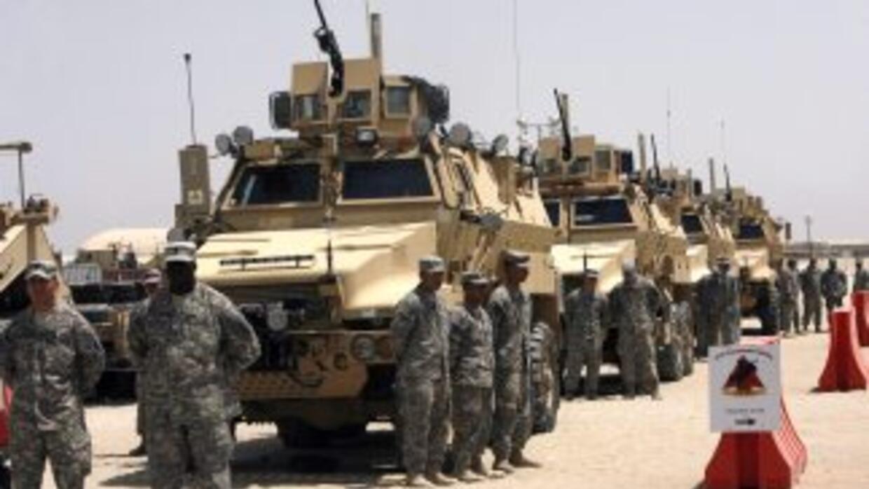 Las tropas de combate de EU comenzaron a retirarse de Irak.