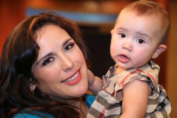 """En 2012 nació su pequeña """"Angeliquita""""."""