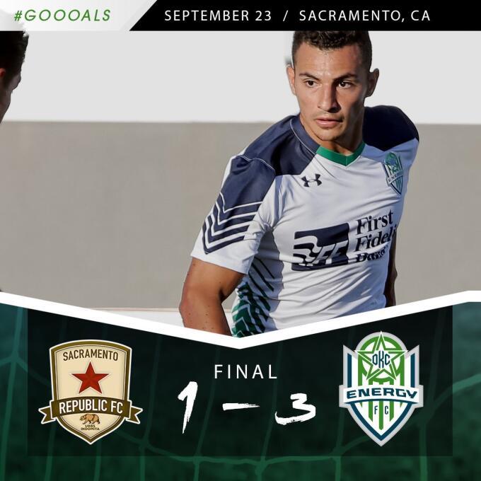 (USL) - Sacramento Republic 1-[3] Energy FC: Miguel González cerró el tr...