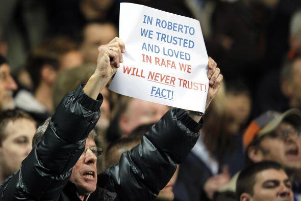 Pero los fanáticos no tienen en buen agrado al técnico esp...