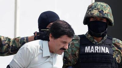 El líder del cartel de Sinaloa, Joaquín 'El Chapo' Guzmán, fue e...
