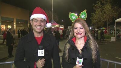 Posada navideña de Univision 19 en Rancho Cordova