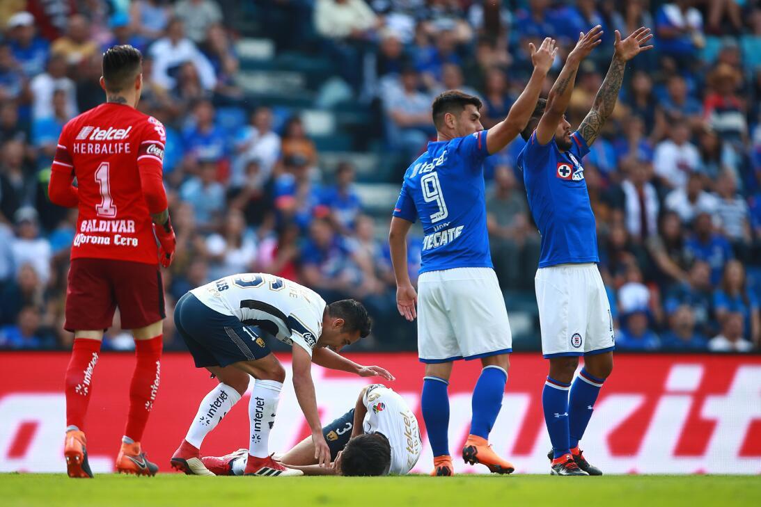 En Fotos: La escalofriante lesión de Alejandro Arribas gettyimages-93445...