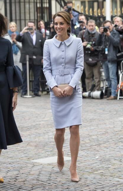 Los 50 mejores vestidos que usó Kate Middleton en 2016 GettyImages-61394...