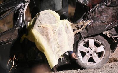 De acuerdo con medios locales, los ocupantes del vehículo eran co...