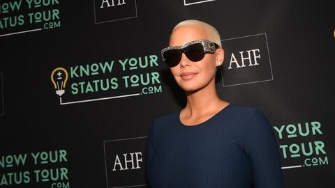 ATLANTA, GA - APRIL 20: Amber Rose attends AHF Presents The Know Your St...