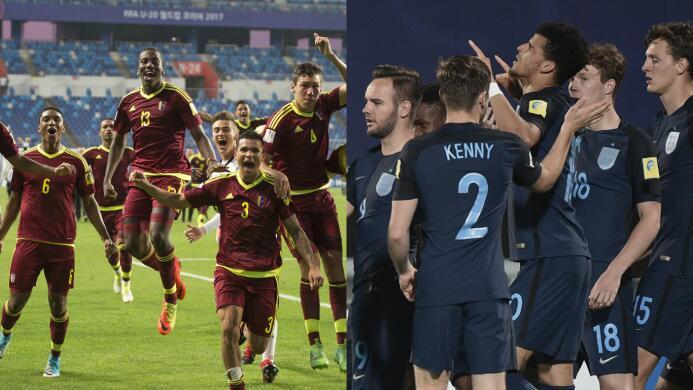 Inglaterra y Venezuela, los verdugos de México en el Sub-20 que ahora va...