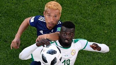 Insólito, pero cierto: Japón le ganó la clasificación a Senegal por dos amarillas