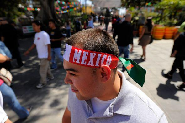 Los mexicanos fuera de sus fronteras imprimen a la celebración mayor imp...
