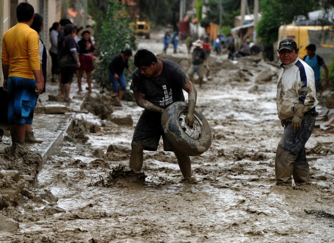 Inundación Bolivia