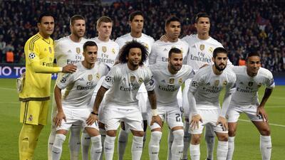 Jugadores del Real Madrid votaron por el Once Mundial FIFA FIFPro