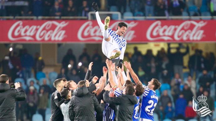 Gol y despedida: Carlos Vela cerró su paso por la Real Sociedad a lo gra...