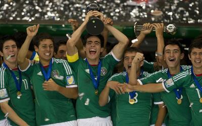México ha sido campeón del mundo Sub-17 en dos ocasiones.