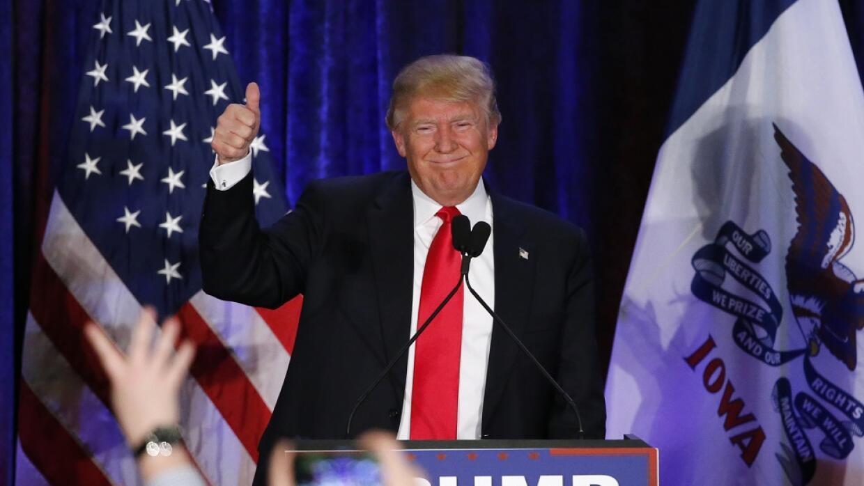 Trump era favorito en Iowa, ¿se repetirá lo mismo en New Hampshire?