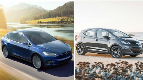 Tesla Model 3 y Chevrolet Bolt EV