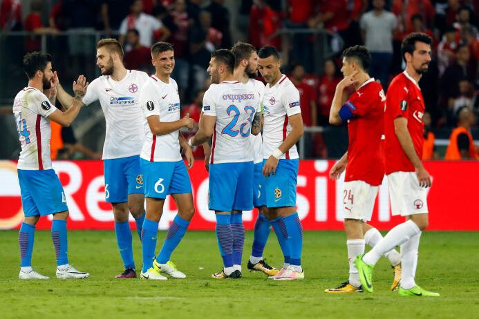Hapoel Be'er Sheva 1-2 Steaua Bucarest: puntaje perfecto para el equ...