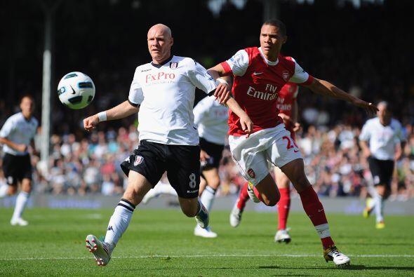 E otros encuentros de la última fecha de la Premier, Arsenal enfrentó al...