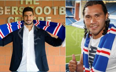 Rangers anunció fichajes de Herrera y 'Gullit' Peña