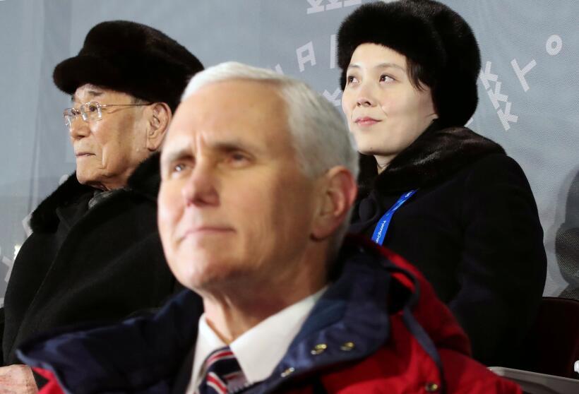 """Pence se iba a reunir con autoridades norcoreanas que """"cancelaron el enc..."""