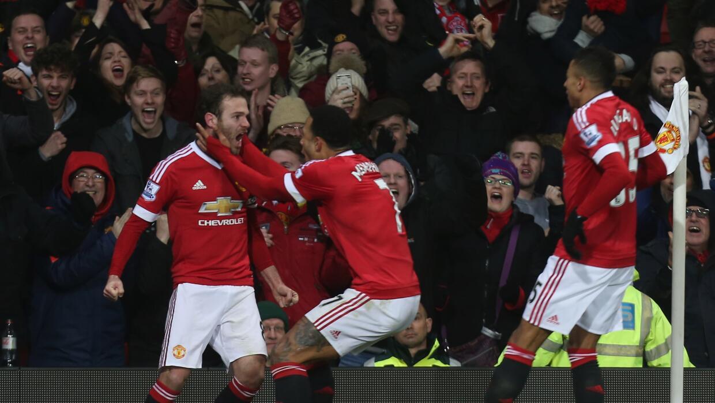 Juan Mata le dio el triunfo al Manchester United